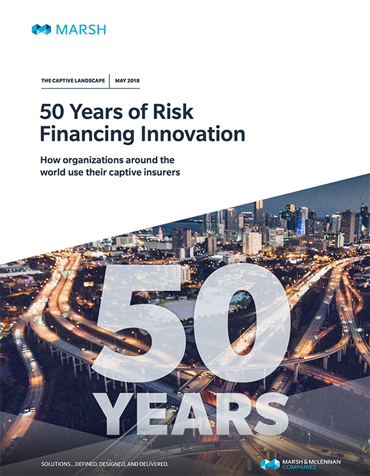 The Captive Landscape - 50 Years of Risk Financing Innovation