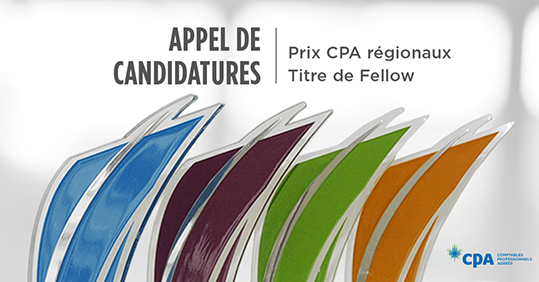 Appel de candidatures – Prix cpa régionaux / Titre de Fellow